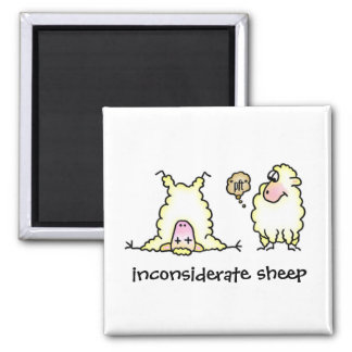 Inconsiderate Sheep Magnet