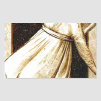 Inconstancy by Giotto Rectangular Sticker