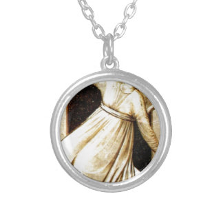 Inconstancy by Giotto Round Pendant Necklace