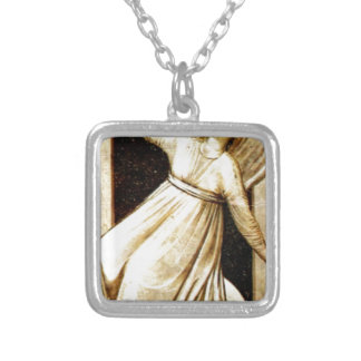 Inconstancy by Giotto Square Pendant Necklace