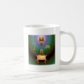 Incorporar su cuadrado de la presencia taza de café