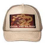 Incorpore el personalizado chino del gorra del dra