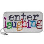 Incorpore la risa portátil altavoces