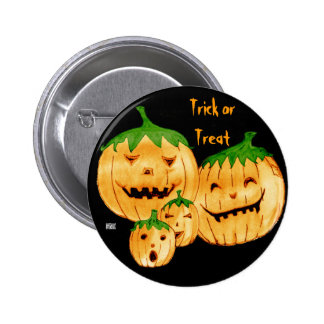 Incorrigible Pumpkins, Trick Or Treat Button