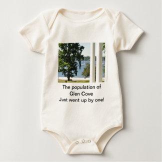 Increase In Population- Glen Cove Baby Bodysuits