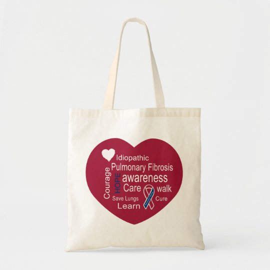 Increase Pulmonary Fibrosis Awareness Bag