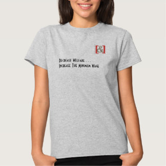 Increase the Minimum Wage Womens' Shirt -