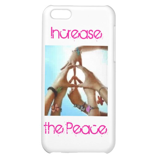 increase the peace cover for iPhone 5C