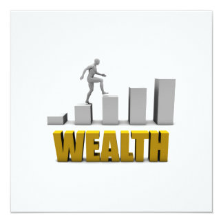 Increase Your Wealth or Business Process Card