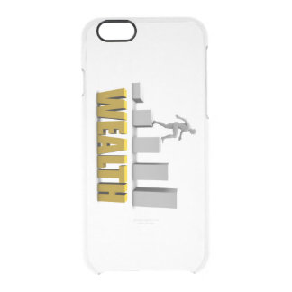 Increase Your Wealth or Business Process Clear iPhone 6/6S Case