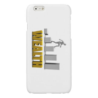 Increase Your Wealth or Business Process Glossy iPhone 6 Case