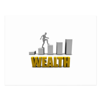 Increase Your Wealth or Business Process Postcard