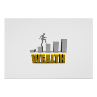 Increase Your Wealth or Business Process Poster