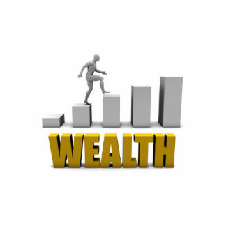 Increase Your Wealth or Business Process Statuette
