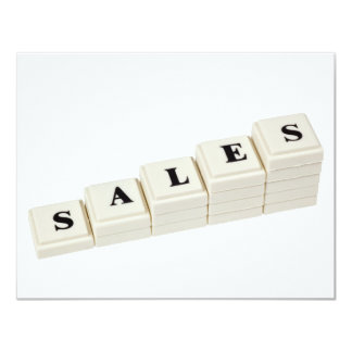 Increasing Sales Card