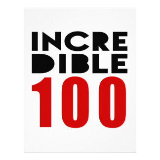 Incredible 100  Birthday Designs Letterhead