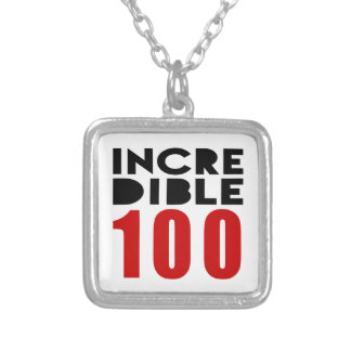 Incredible 100  Birthday Designs Square Pendant Necklace