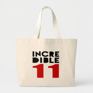 Incredible 11 Birthday Designs Jumbo Tote Bag