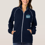 Incredible Awesome PERSONAL TRAINER Navy Printed Jacket