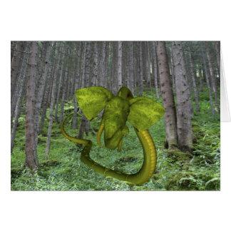 Incredible Elephant Python Card