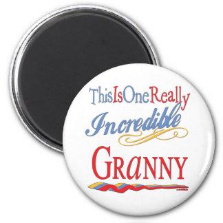 Incredible Granny Fridge Magnets