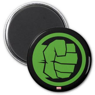 Incredible Hulk Logo 2 Inch Round Magnet