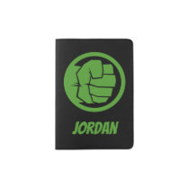 Incredible Hulk Logo - Add Your Name Passport Holder