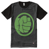 Incredible Hulk Logo All-Over-Print T-Shirt