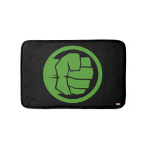 Incredible Hulk Logo Bath Mat