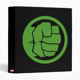 Incredible Hulk Logo Binder