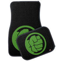 Incredible Hulk Logo Car Mat