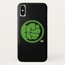 Incredible Hulk Logo iPhone X Case