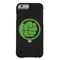 Incredible Hulk Logo Barely There iPhone 6 Case