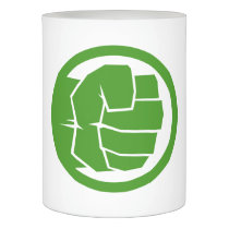 Incredible Hulk Logo Flameless Candle