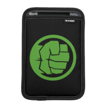 Incredible Hulk Logo iPad Mini Sleeve