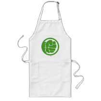 Incredible Hulk Logo Long Apron