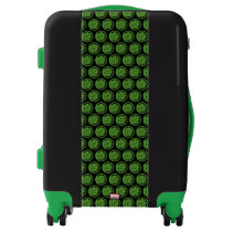 Incredible Hulk Logo Luggage