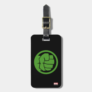 Incredible Hulk Logo Luggage Tag