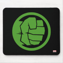Incredible Hulk Logo Mouse Pad