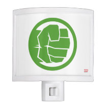 Incredible Hulk Logo Night Light