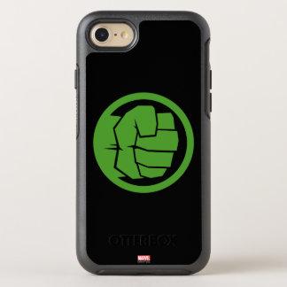 Incredible Hulk Logo OtterBox Symmetry iPhone 7 Case