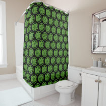 Incredible Hulk Logo Shower Curtain