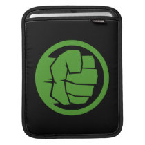 Incredible Hulk Logo Sleeve For iPads