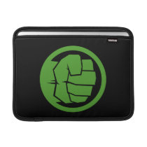 Incredible Hulk Logo Sleeve For MacBook Air