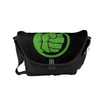 Incredible Hulk Logo Small Messenger Bag
