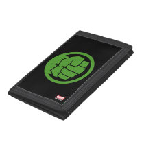 Incredible Hulk Logo Trifold Wallet