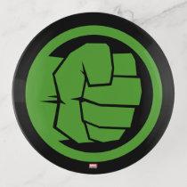 Incredible Hulk Logo Trinket Tray