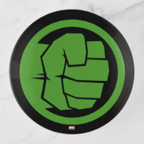 Incredible Hulk Logo Trinket Trays
