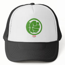 Incredible Hulk Logo Trucker Hat