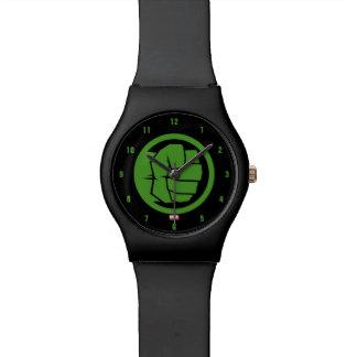 Incredible Hulk Logo Watch